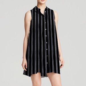 BANANA REPUBLIC - Sleeveless Shirt Dress, Size XS